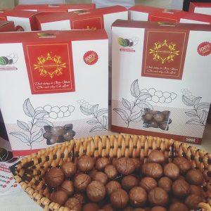 Hạt Macca Daklak loại 1 gói 500g
