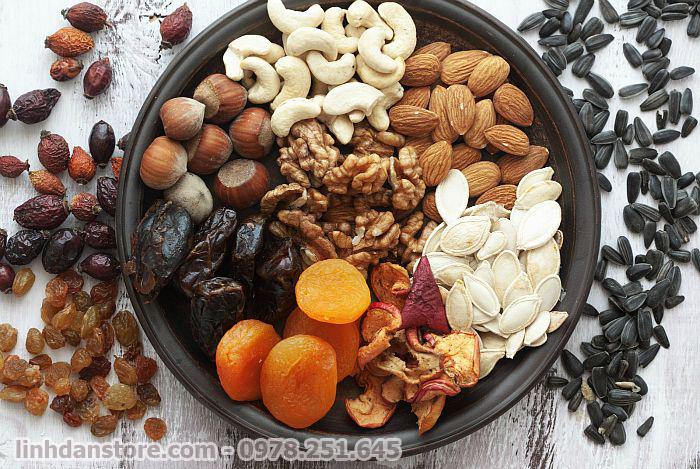 Những loại hạt ăn trong ngày Tết tốt cho sức khỏe